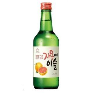 真露葡萄柚燒酒