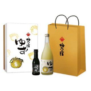 梅乃宿柚子酒禮盒